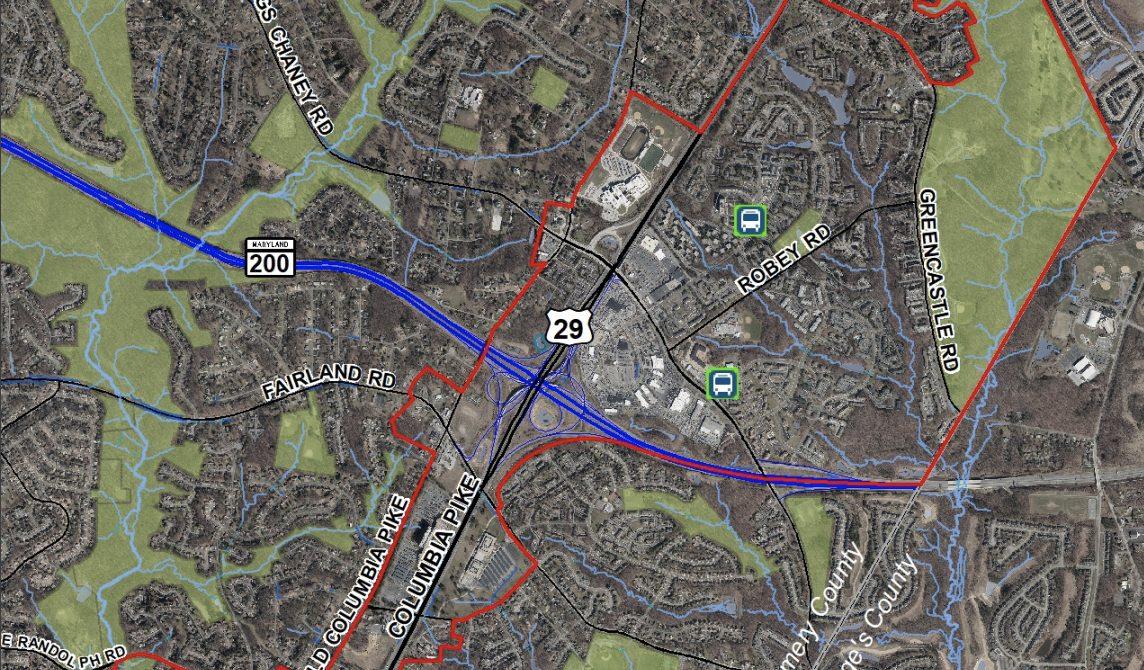 Thumbnail of Fairland boundary map